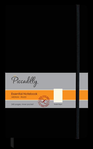 Essential Notebook Black