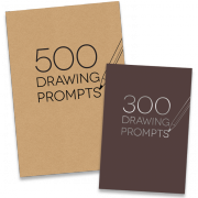 300 & 500 Drawing Prompts
