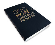 300 MORE Writing Prompts – side angle view