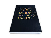 300 MORE Writing Prompts – front angle view