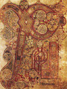 Book of Kells -Chi Rio