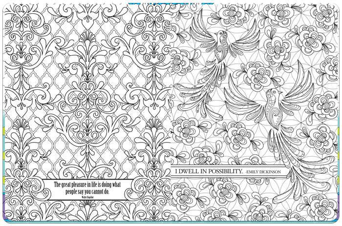 New Coloring Book To Make You Smile And Feel Inspired