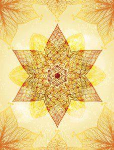 Mandala Yellow