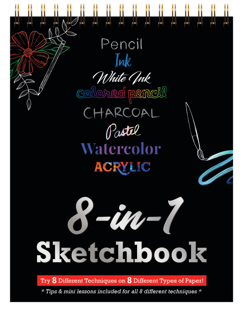 8-in-1-Sketchbook