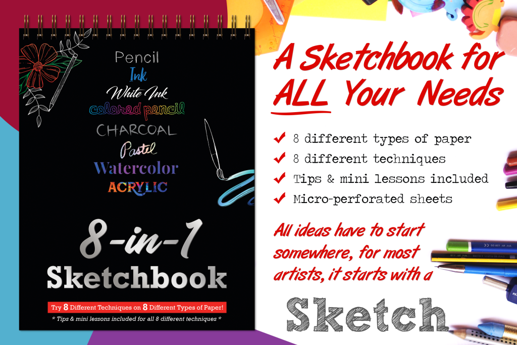 8-in-1 Sketchbook