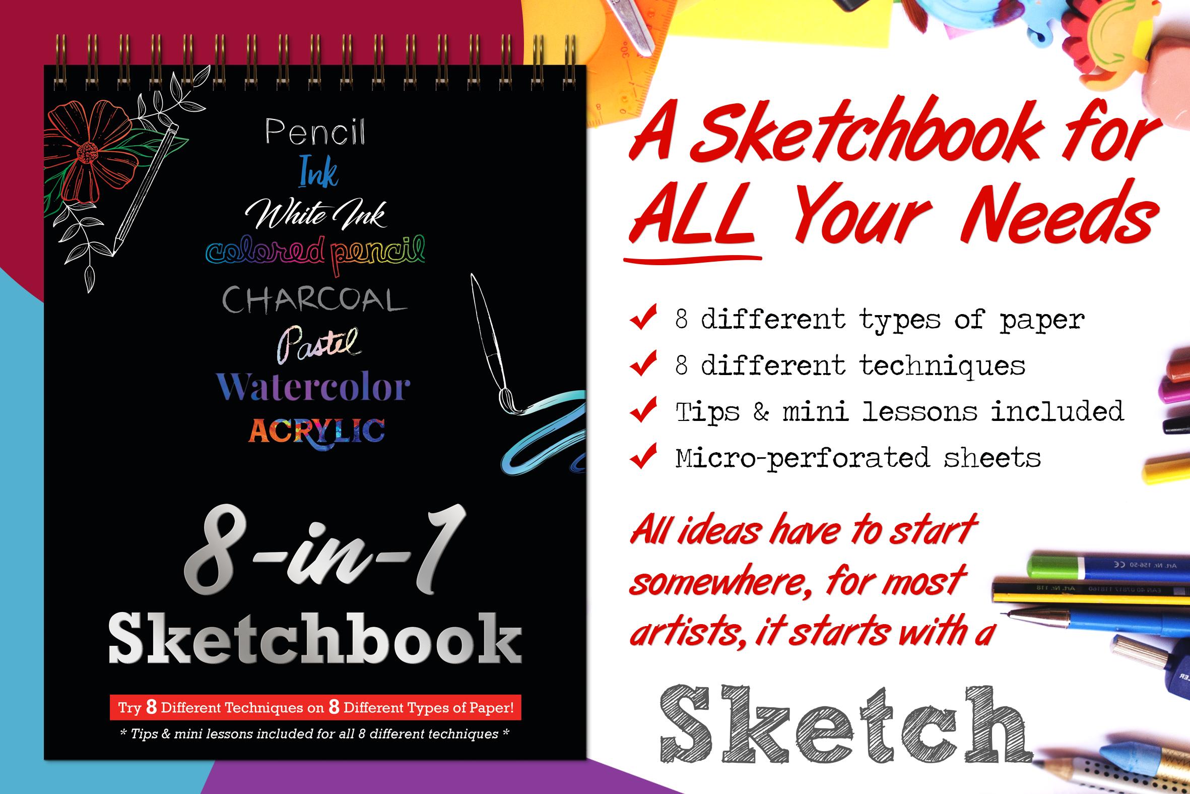 8-in-1 Sketchbook
