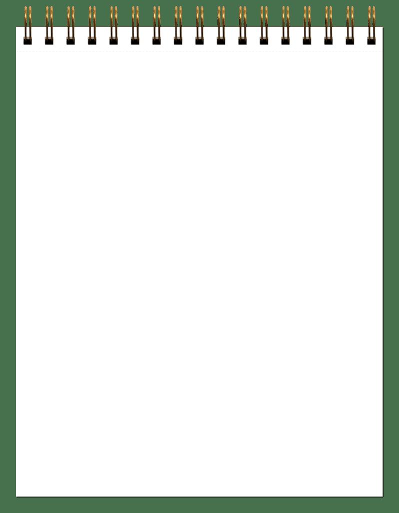 8-in-1 Sketchbook White Paper