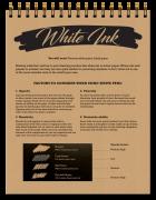 8-in-1 Sketchbook White Ink