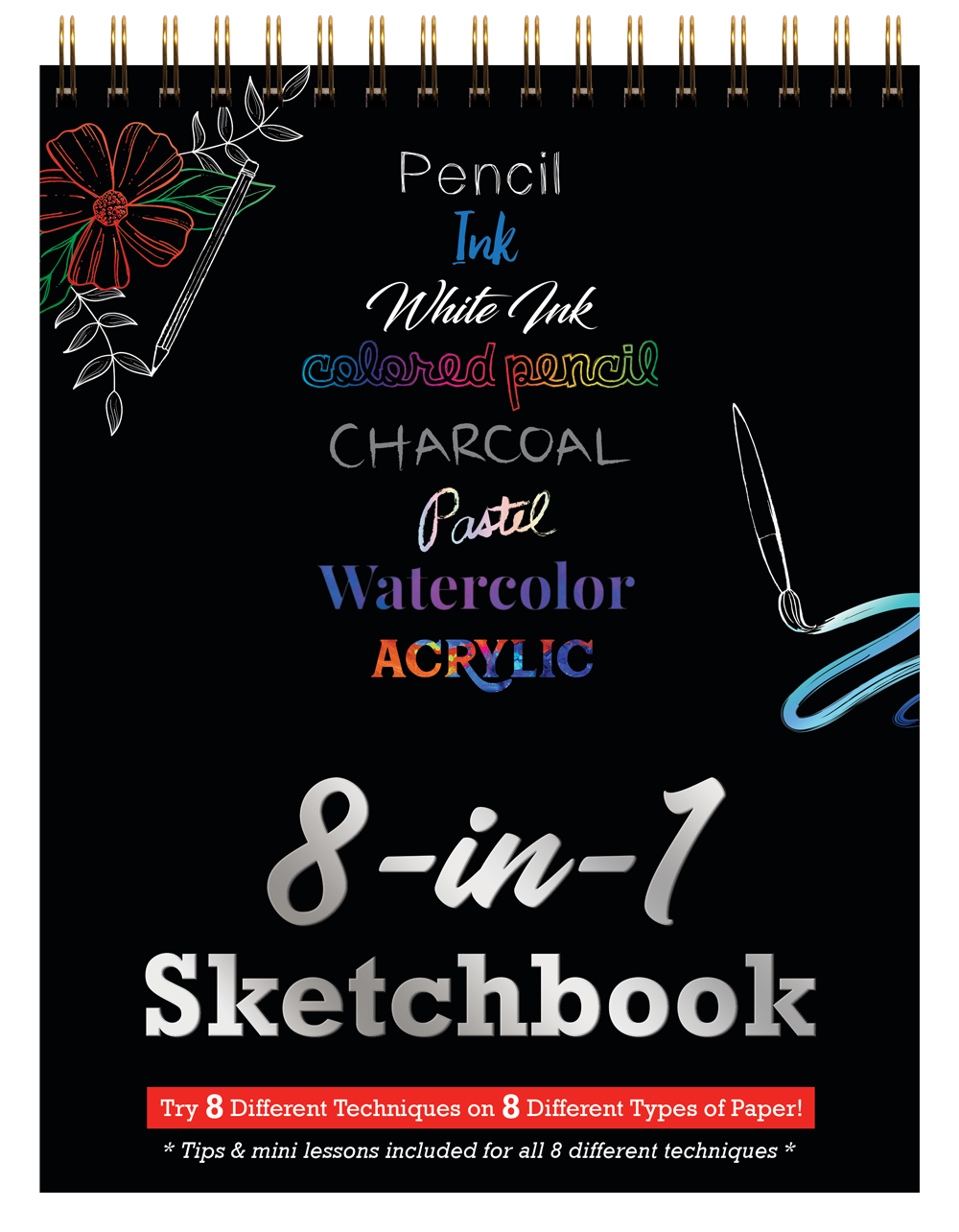 8 In 1 Sketchbook