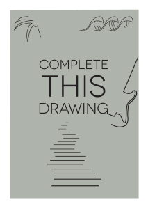 Complete This Drawing