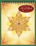 Mandala Yellow (Top Spiral)