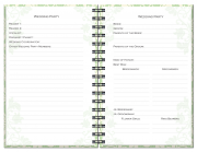 Wedding Journals – Wedding Party Pages