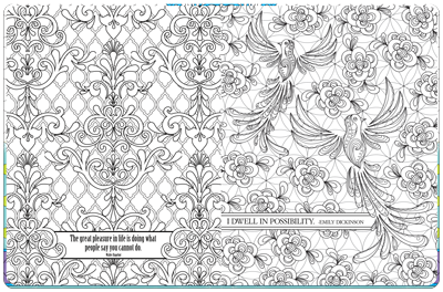 Inspirational Coloring Book