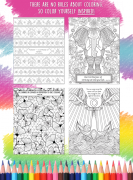 Inspirational Coloring Book – Inside Page Examples