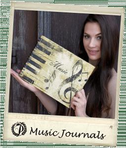 Music Journals - Polaroid