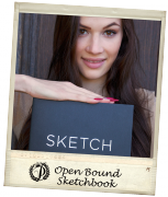 Open Bound Sketchbooks – Polaroid