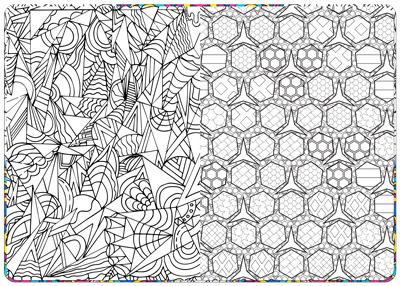 Stress Relieving Adult Coloring Pages