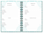 Wedding Journals – Vendor List Pages