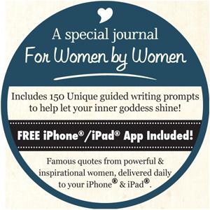 Woman's Reflection Journal - Sticker