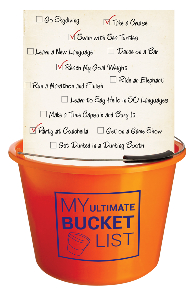 My Ultimate Bucket Sample Activities