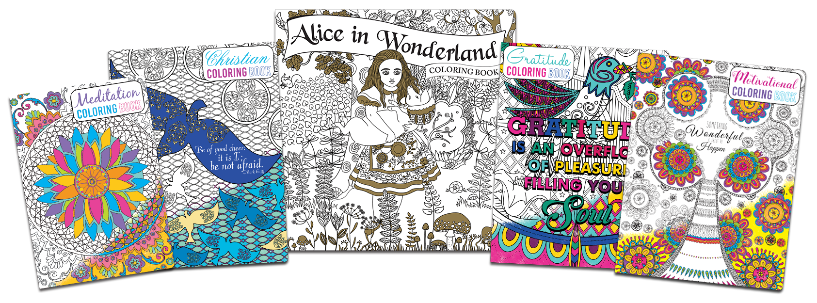 New Coloring Books