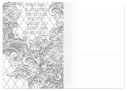 Coloring Book Journal Spread 1
