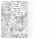 Coloring Book Journal Spread 4