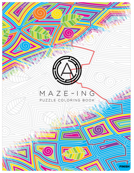 A-Maze-Ing Coloring Book