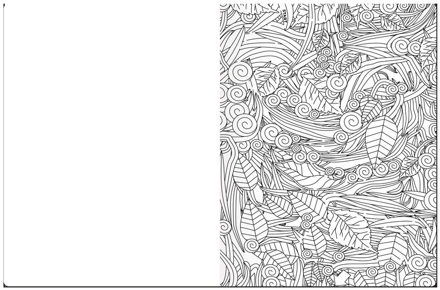 A-Maze-Ing Coloring Book Maze Example 2