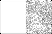 A-Maze-Ing Coloring Book Maze Example 3