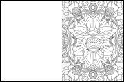 A-Maze-Ing Coloring Book Maze Example 4