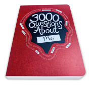 3000 Questions About Me – front angled view