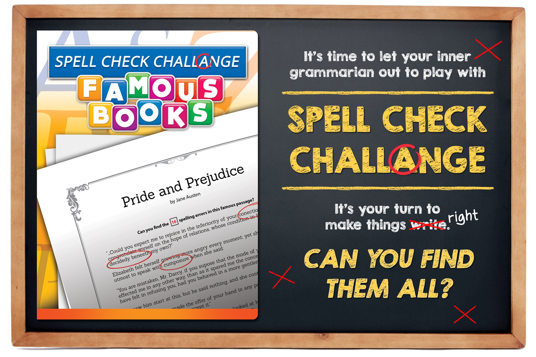 Spell Check Challenge Call Out