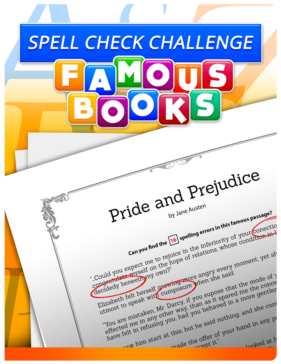 Spell Check Challenge Cover