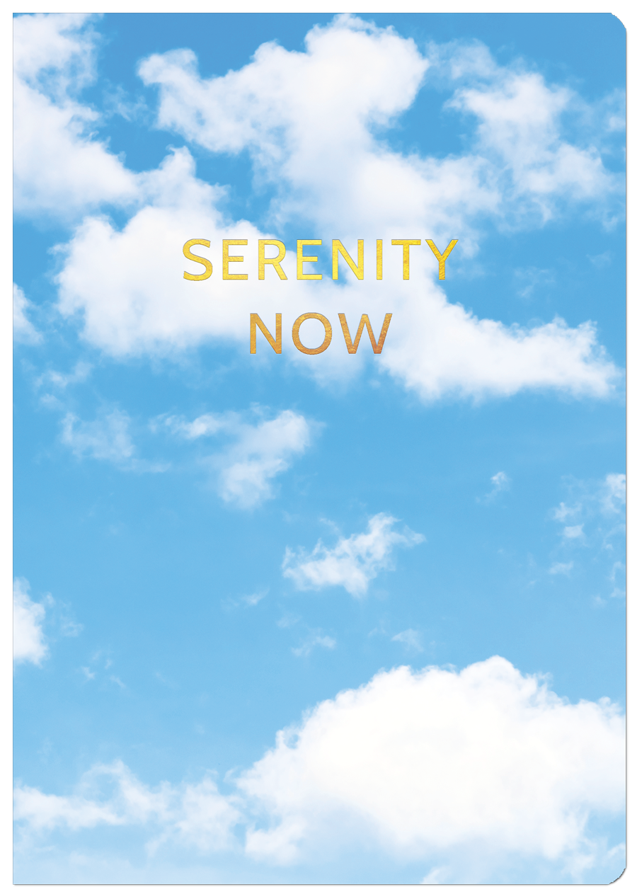 Serenity Now Cover
