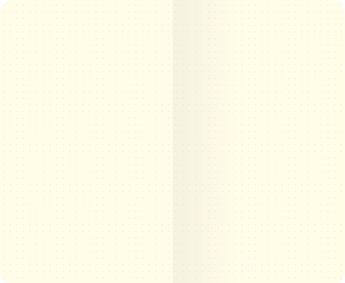 Dot Grid Essential Notebook Inside Sample Spread