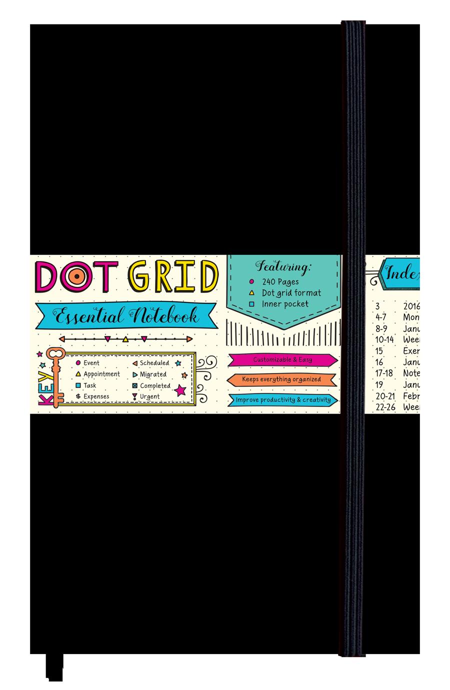Dot Grid Essential Notebook