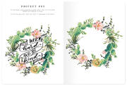 Calligraphy Made Easy: Project Book 6