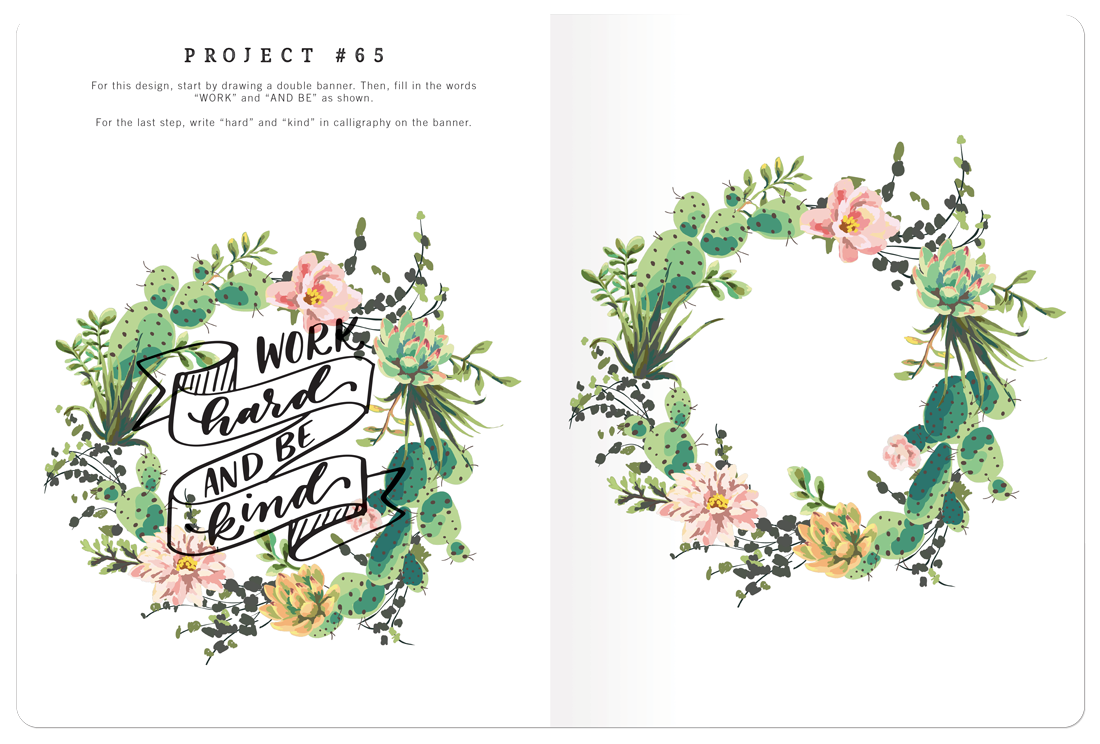 Calligraphy made easy project book