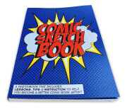 Comic Sketchbook – front angle view
