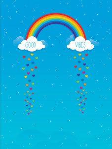 Rainbow Good Vibes