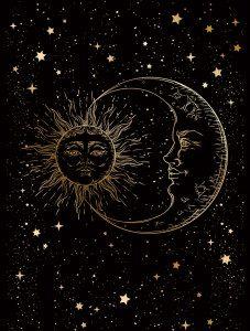 Sun, Moon & Stars