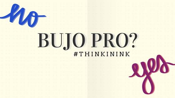 bujo pro blog