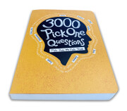 3000 Pick One Questions – front angle view