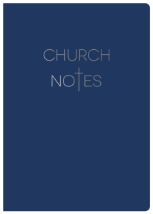 Church Notes
