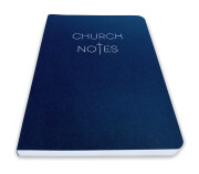 Church Notes – front angle view