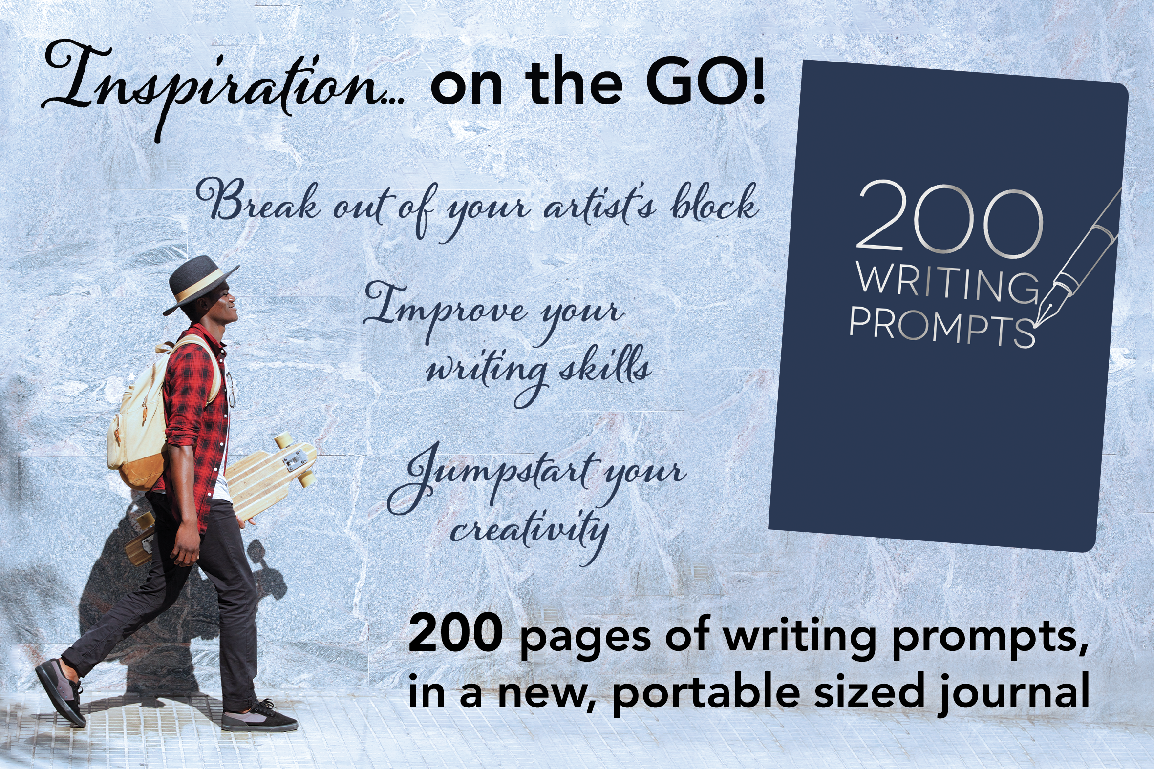 200 Writing Prompts Graphic