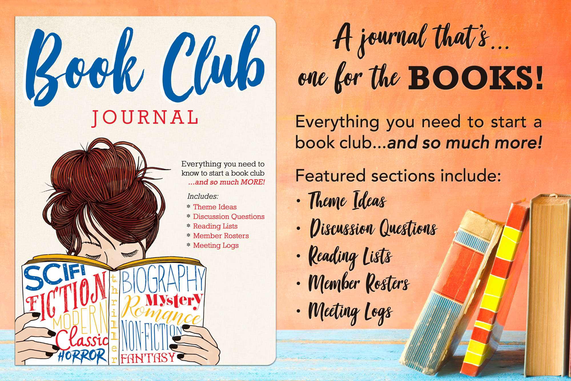 Book Club Journal graphic