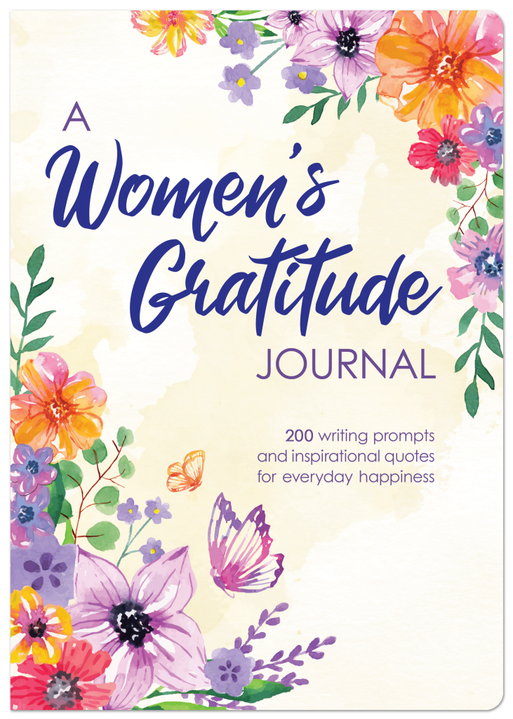 A Women's Gratitude Journal Cover