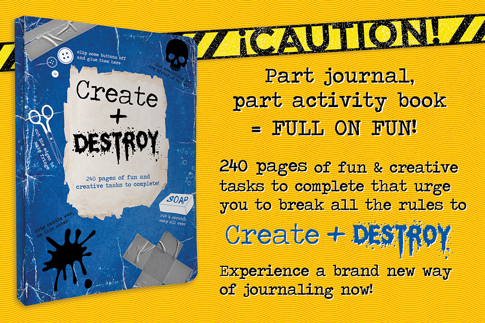 Create + Destroy graphic